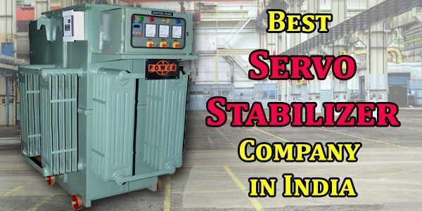 Best Servo Stabilizer Company in India